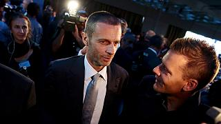 UEFA: Ο Σλοβένος Τσέφεριν εκλέχθηκε στην Αθήνα διάδοχος του Πλατινί