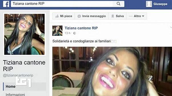 فتاة إيطالية تنتحر بسبب فيديو على الأنترنت