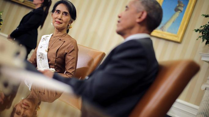 Обама обещал снять санкции с Мьянмы