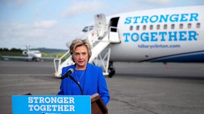"""Hillary Clinton, sente-se """"ótima"""" e está pronta para fazer-se à estrada"""