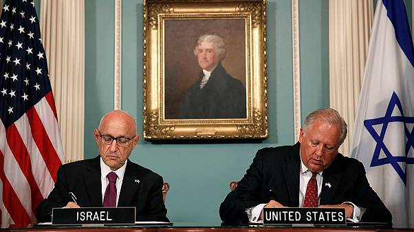 Συμφωνία «μαμούθ» ΗΠΑ-Ισραήλ για στρατιωτική βοήθεια ύψους 38 δισ.