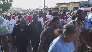 Gabon: Thousands take part in pro-Bongo protests