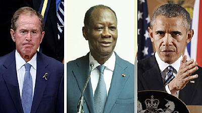 Obama lifts economic sanctions Bush imposed on Ivory Coast