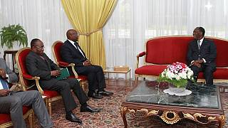 Gabonese interior minister visits Ivory Coast