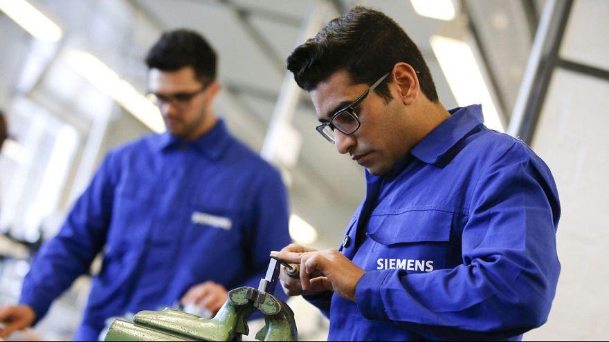 """""""Wir schaffen das"""" auf dem Arbeitsmarkt: Hohe Motivation, bei der Sprache hapert's noch"""