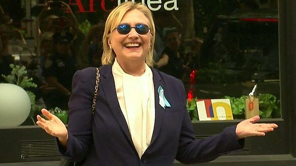 Hillary Clinton iyileşti, seçim kampanyasına Kuzey Carolina'dan devam ediyor
