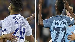 UCL roundup: Mahrez dazzles for Leicester, Iheanacho scores for City