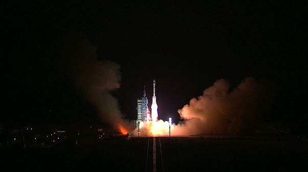 China's second space lab blasts off from Gobi desert