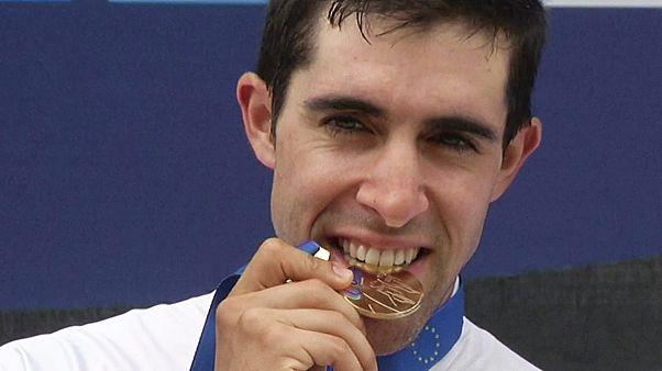 Spanyol kerekes az időfutam Európa-bajnok