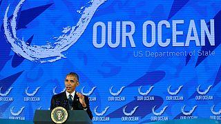 Barack Obama cree que hay que proteger el océano para combatir el cambio climático