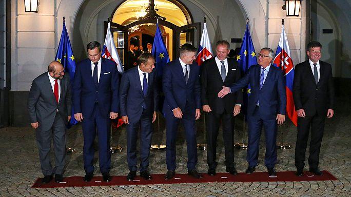 'EU 27' seek unity at Bratislava summit in wake of Brexit