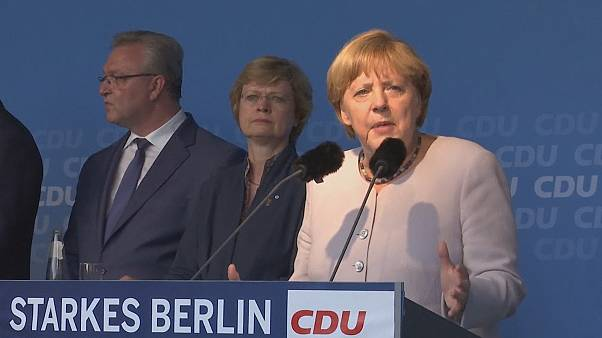Berlin elections loom, but is another setback on the horizon for Angela Merkel?