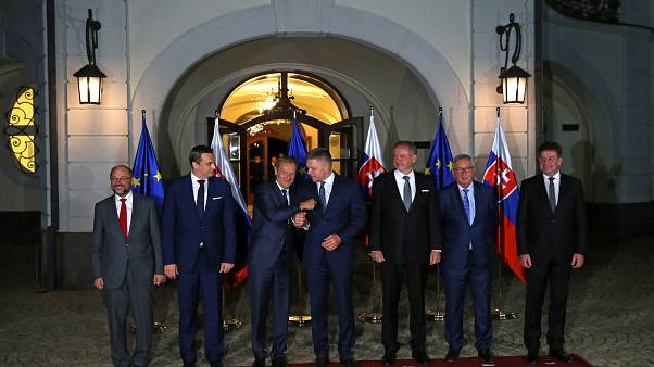 AB liderleri Bratislava'da birliğin geleceğini tartışıyor