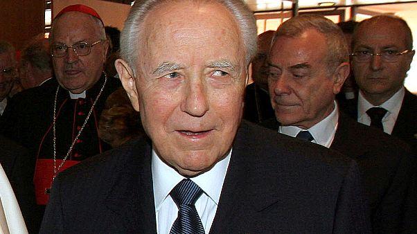 Elhunyt Carlo Azeglio Ciampi volt olasz államfő. 95 éves volt.