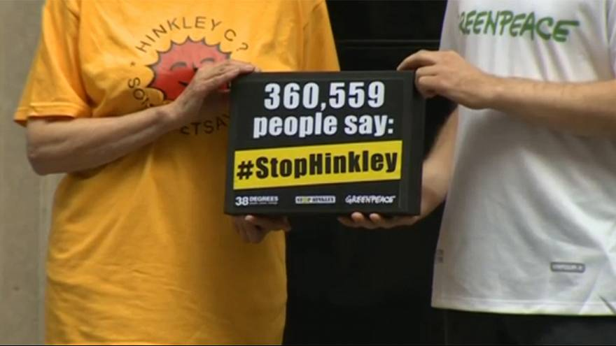 Reino Unido: Abaixo-assinado contra a central nuclear de Hinkley Point