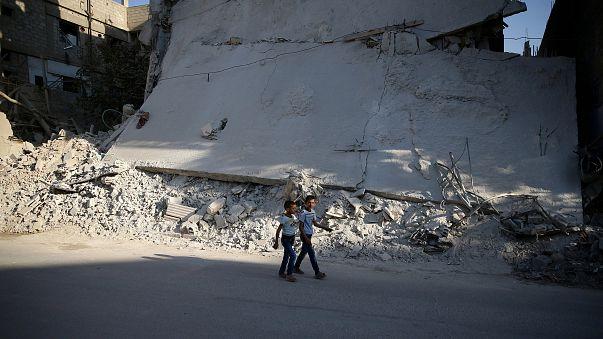 Şam'da şiddetli çatışmalar yaşanıyor