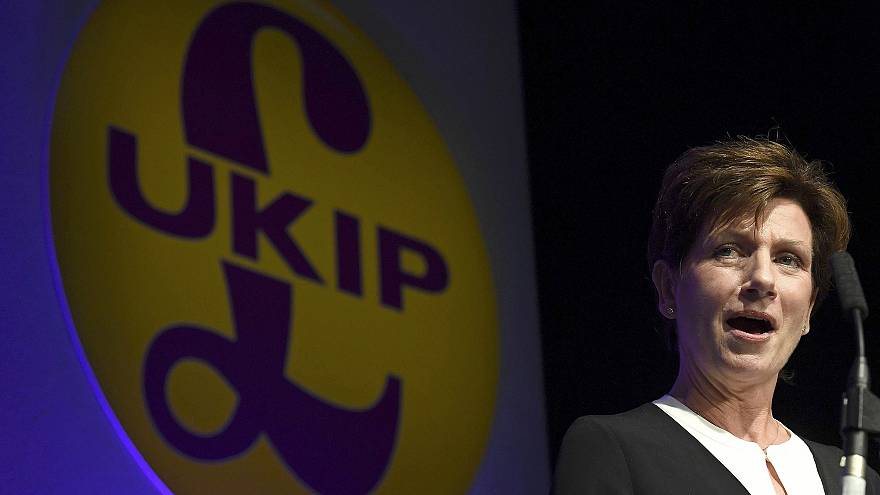 Diane James elected as new leader of UKIP party