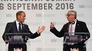 La Ue del futuro, primi passi a Bratislava