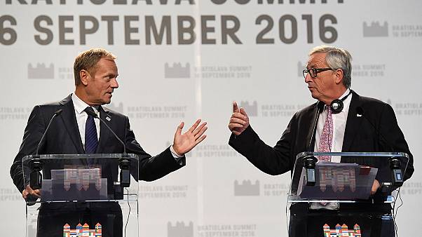 اتحادیه اروپا در یک نگاه؛ از اجلاس رهبران اروپا در براتیسلاوا تا سخنرانی ژان کلود یونکر