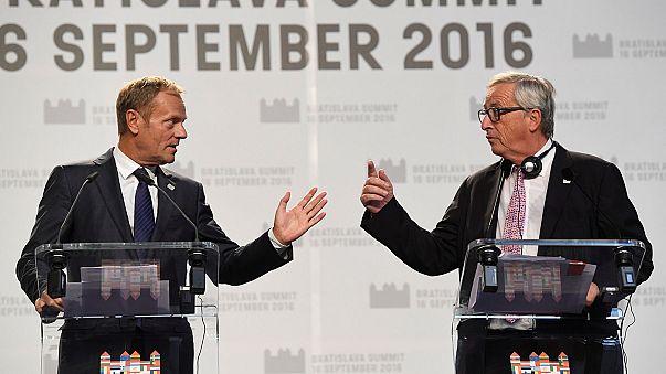 La futura UE da sus primeros pasos en Bratislava
