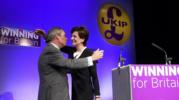 UKIP elects Diane James as leader