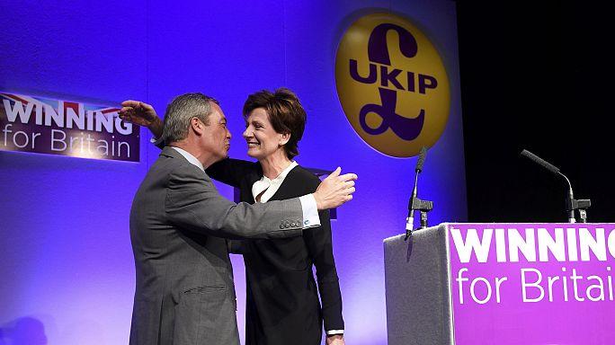 """دْيان جِيْمْسْ تُنتَخب على رأس """"الحزب من أجل استقلال المملكة المتحدة"""""""