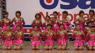Japon : des pom-pom girls du 3e âge