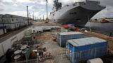 France delivers second Mistral helicopter carrier to Egypt