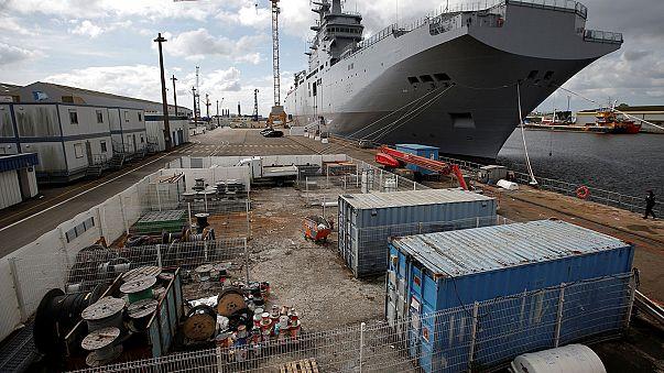 France delivers second Mistral helicopter carrier to Egypt