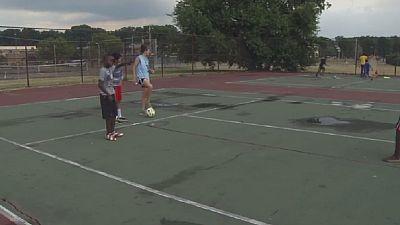 Refugee integration via soccer
