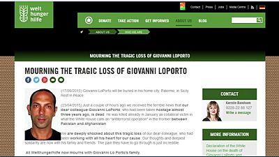 Un million de dollars pour la famille d'un Italien tué dans une frappe de drone