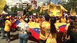 Venezuela'da muhalefet yeniden meydanlara indi