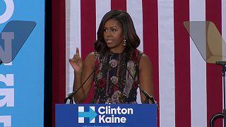 Michelle Obama macht Wahlkampf für Hillary Clinton