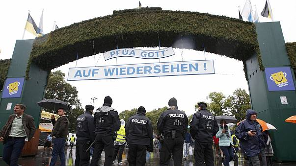 Oktoberfest opens under heightened security