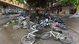 El tifón Meranti deja un rastro de destrucción a su paso por China
