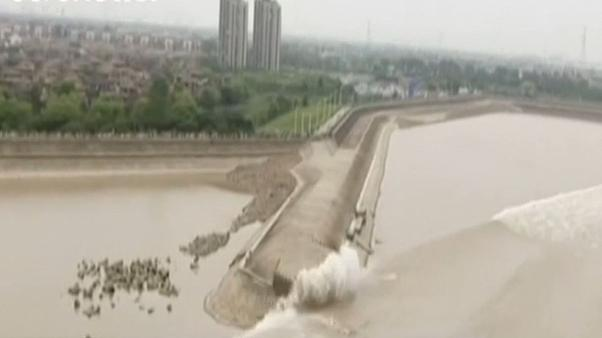 Typhoons bolster world's largest tidal bore