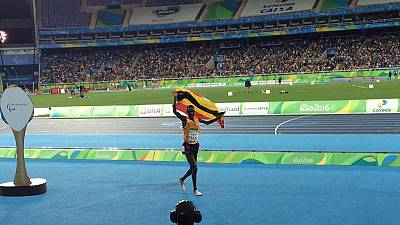 Uganda's top politicians celebrate first ever Paralympic medal