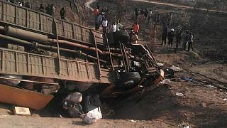 Zambia: 25 people killed in twin road accident, president distressed