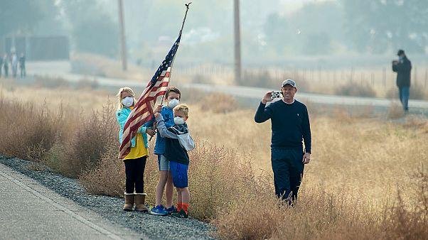 Image: Trump Visits California Wildfires