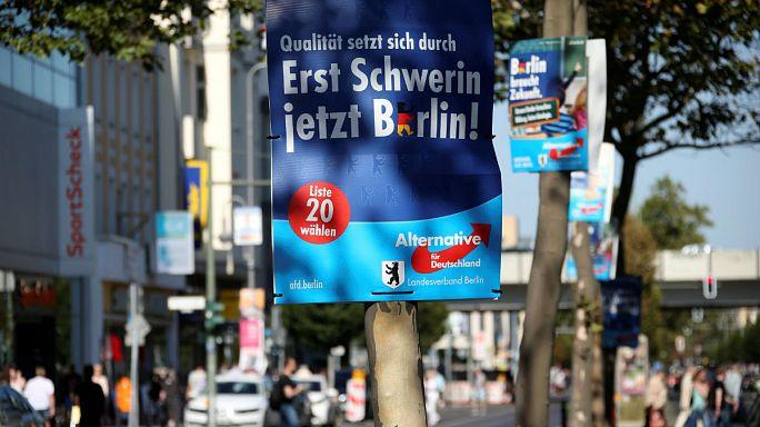 Einen Tag vor der Wahl in Berlin brennt Petrys Auto