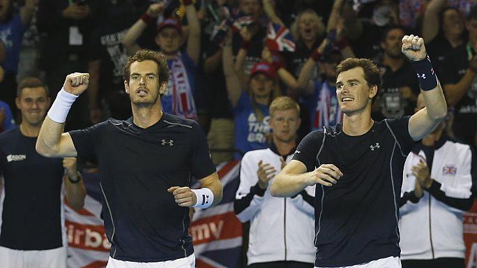 Davis-kupa - A britek javítottak, a horvátok előnybe kerültek
