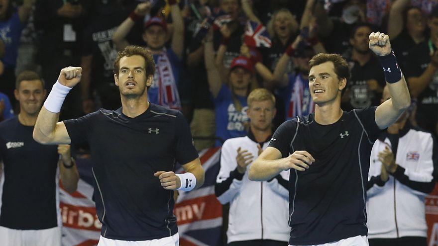 Davis-Cup-Halbfinale: Briten und Kroaten führen