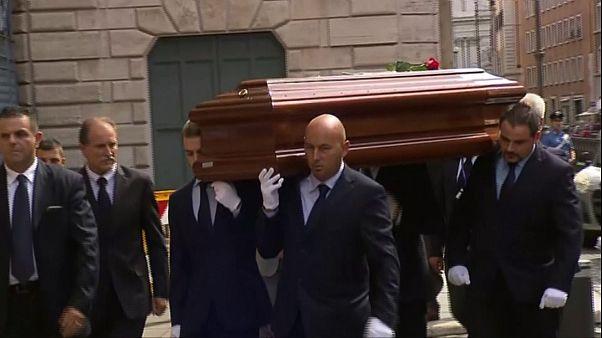 Itália despediu-se do ex-presidente Carlo Ciampi