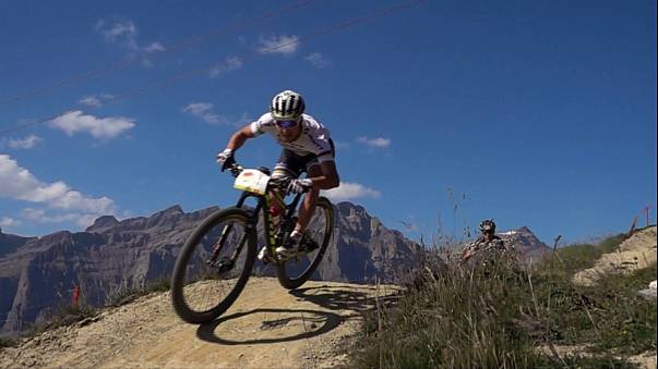 Lukas Flückiger and Reto Indergand secure the 2016 Swiss Epic