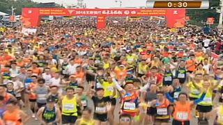 Le marathon de Pékin dominé par les athlètes éthiopiens