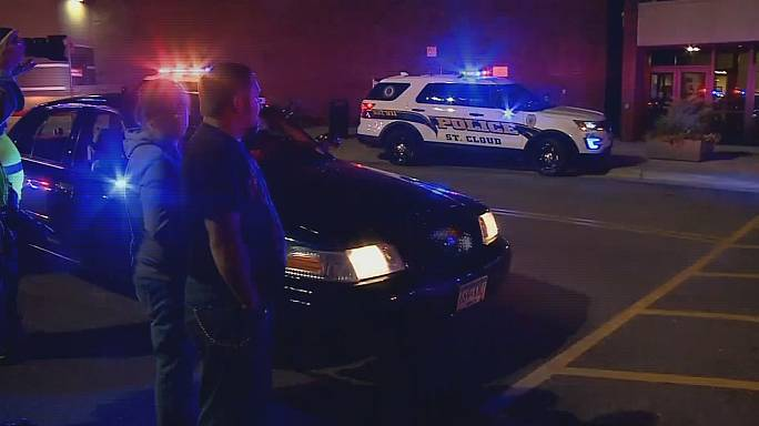Eight injured and suspect killed following stabbings in St Cloud, Minnesota