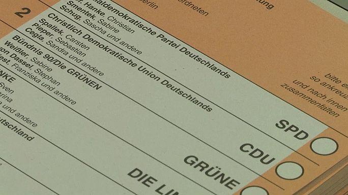 Helyi törvényhozási választás kezdődött vasárnap Berlinben