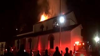 Cuzco's San Sebastian church gutted by fire
