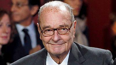 L'ancien président français Jacques Chirac hospitalisé