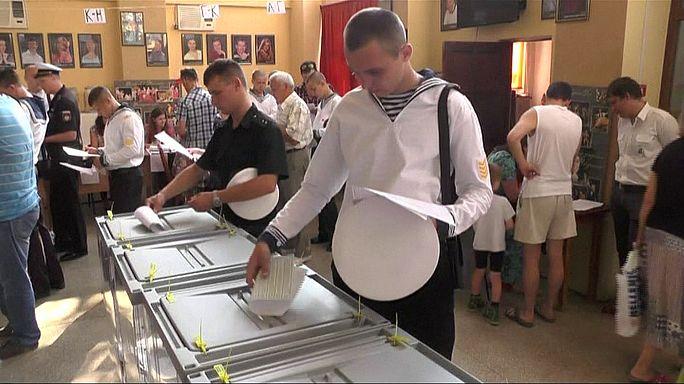 Выборы в Крыму и беспорядки на Украине